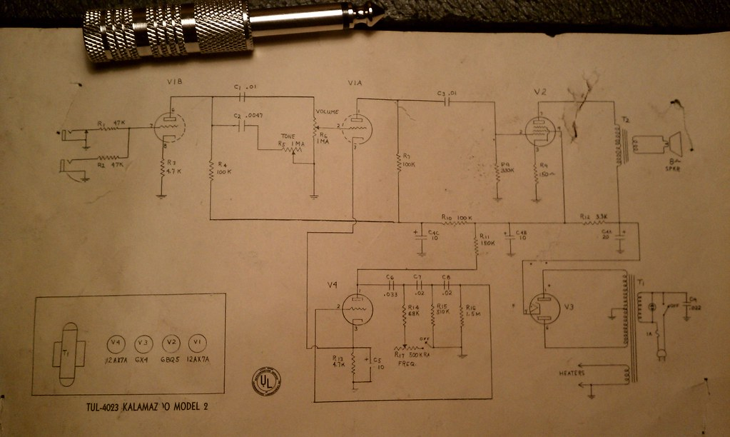 DIY Audio Projects Forum • RossD's Kalamazoo Model 2 Guitar Amp on fender pro 185 schematic, fender pro reverb schematic, fender champ schematic aa764, fender jaguar schematic, fender m80 schematic, fender footswitch schematic, 59 fender champ schematic, fender excelsior schematic, fender pro amp schematic,
