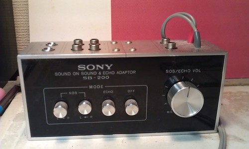 SONY SB-200 Sound On Sound & Echo Adaptor1 by Kanda Mori