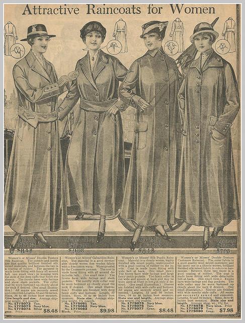 Women's Raincoats  Accessories