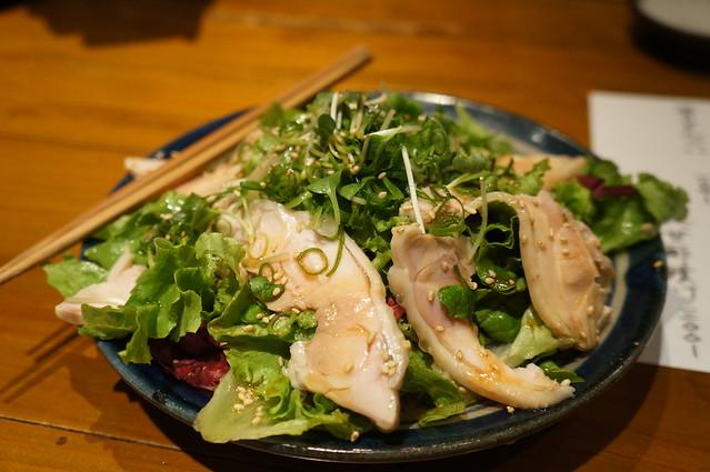7日目の飲み会サラダ