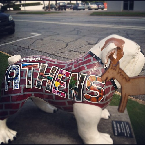 Flossy the Pony Embroidery Floss Bobbin by the bulldog, Athens, Georgia. #etsyeverywhere