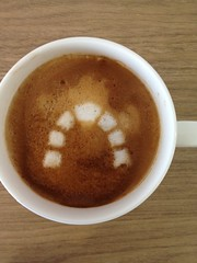 Today's latte, Redmine.