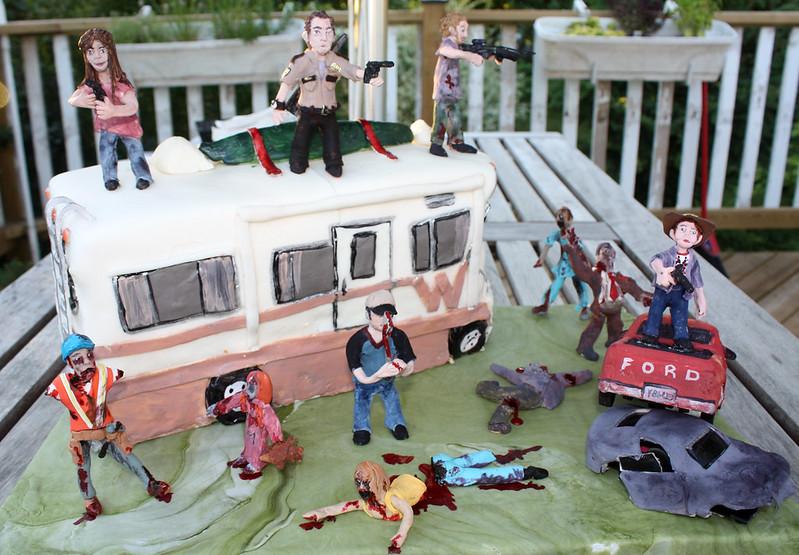 gâteau Walking Dead