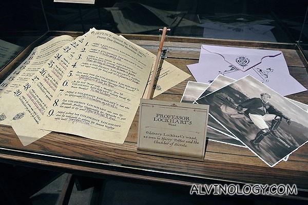Professor Lockhart's stuff