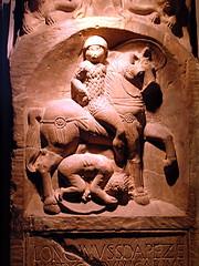 Longinus' tombstone