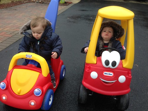 Cozy Coupe Ride Appeasement