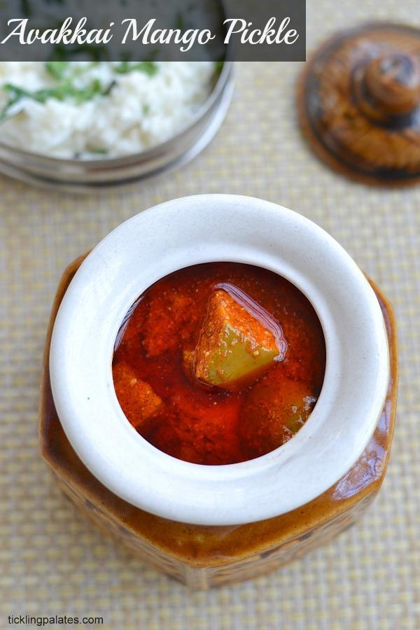 Andhra Avakaya Pickle