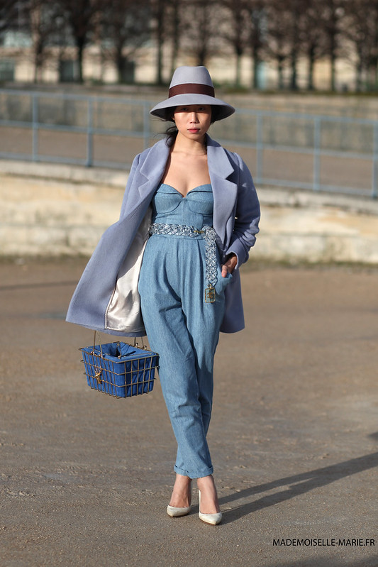 Oksana On at Paris fashion week