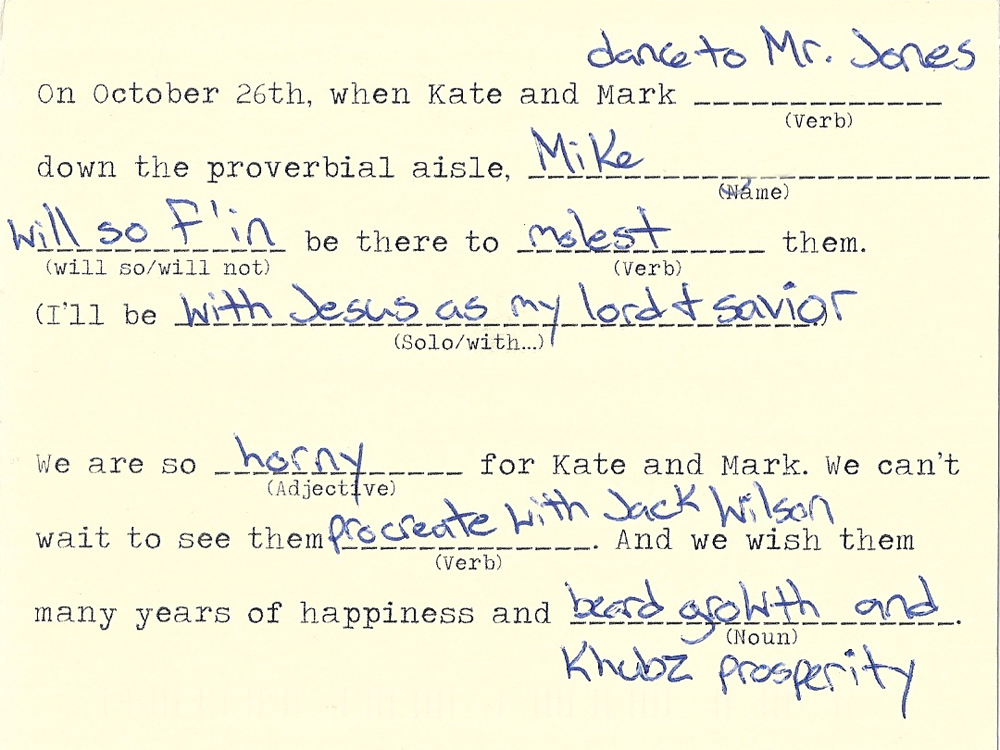 Willy@MadLibs