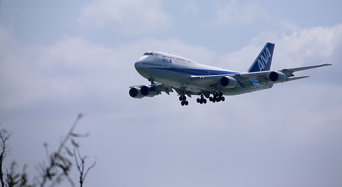 747 in Okinawa
