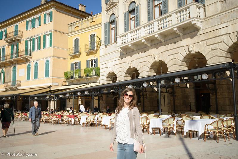 restaurants in Piazza Abra in Verona