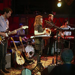 For an audience of WFUV members, 5/22/14. Photo by Gus Philippas.