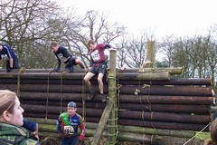 Greg on the start of the Assault Course Image