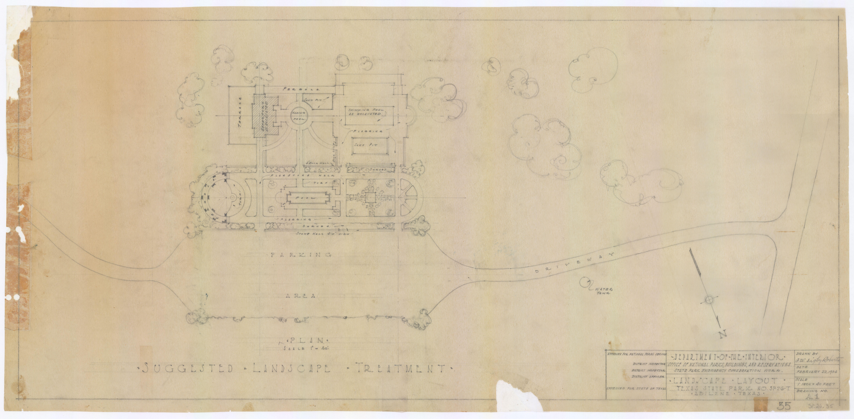 Abilene State Park - Landscape Layout  SP.26.35