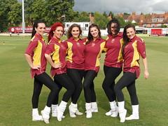 Northants Steelbacks v Warwickshire Bears, T20 Cricket.