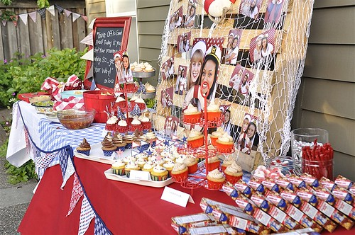 Graduation party ideas for Italian decoration food