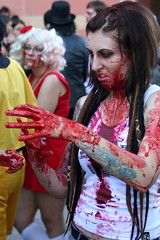 Phoenix Comicon 2011 Zombie Walk