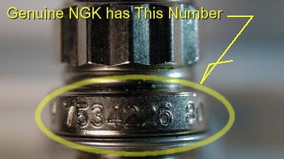 Genuine NGK 02