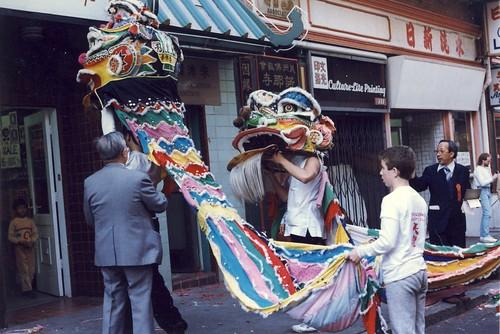 Chinese Parade, San Francisco, Feb. 1988.