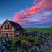 Abandoned House Sunset HDR