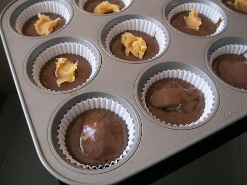 süt reçelli muffin