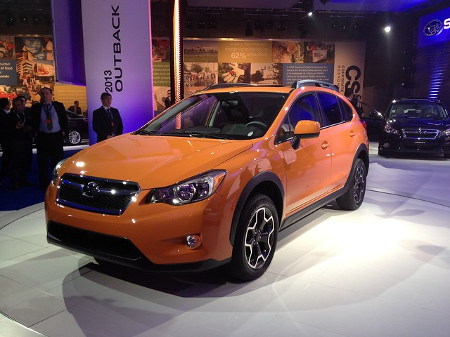 The New Subaru XV Crosstrek @ the 2012 New York International Auto Show