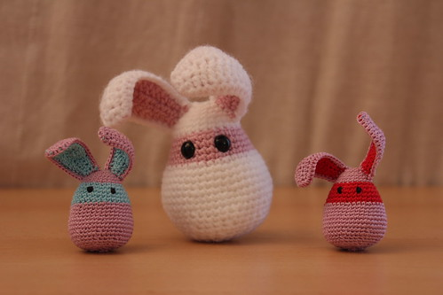 Teany tiny bunnies and whte rabbit for a magician