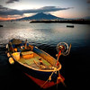 Vesuvio and the fishing boat by jjamv
