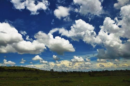 無料写真素材, 自然風景, 空, 雲, 青空, 風景  ケニア