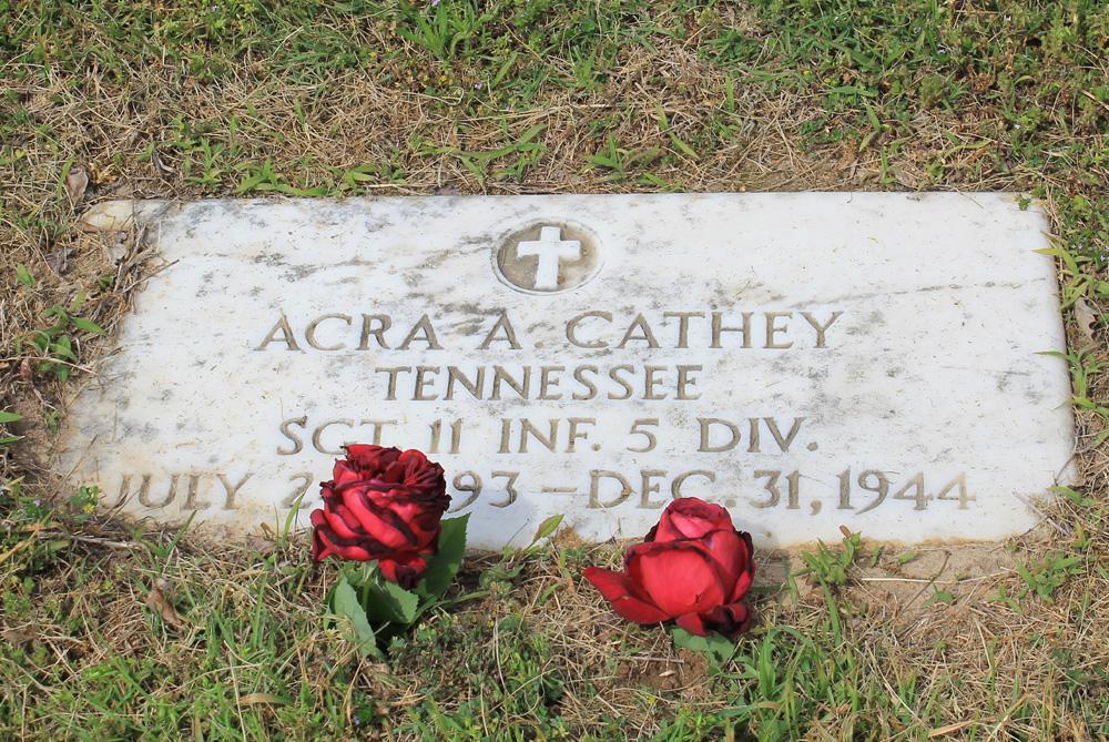 Acra Archie Cathey Headstone