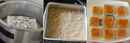 Eggless Bread Caramel Pudding Recipe - Step5