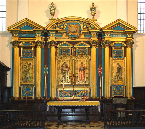 reredos painted by Comper