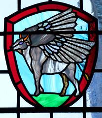 winged bull of St Luke