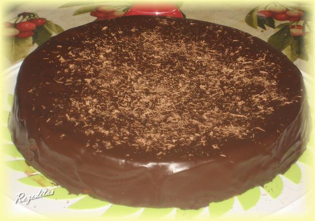 CAKE DE FRUTAS DESECADAS, NARANJA Y CHOCOLATE