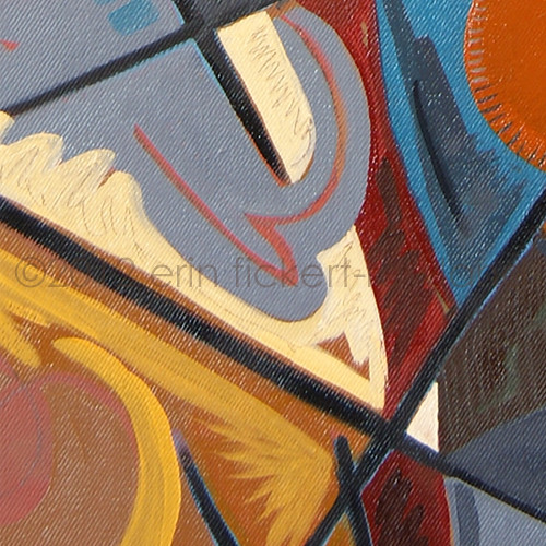 """Illumination"" Original Painting by Erin Fickert-Rowland-Detail 2"