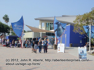 John Aberle's Birthday Outing to the Aquarium of the Pacific on the Metro Blue Line by JohnAberle