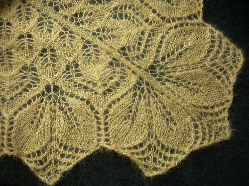"""Haruni"" shawl by Asplund"