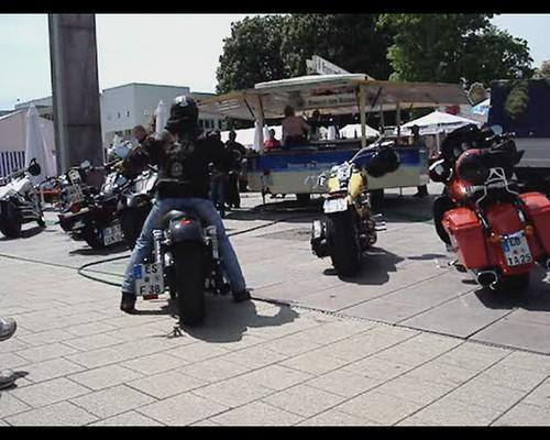 Harley Davidson meeting