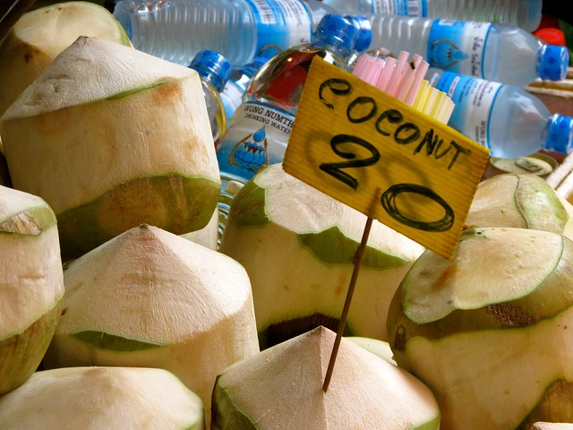 coconut in thailand