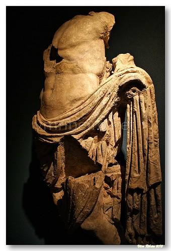 Escultura romana em Conimbriga by VRfoto