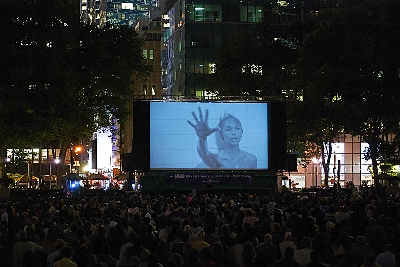 HBO 20th Anniversary Bryant Park Summer Film Festival 2012 Kicks Off With PSYCHO