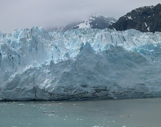 Cool Colours - An Alaska Glacier