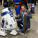 R2D2 Meets Dr. House at Fan Expo Vancouver by Mark Klotz