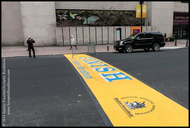Boston Marathon is Never Finished