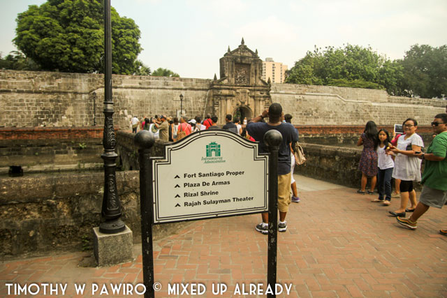 Asia - Philippines - Manila - Intramuros - Inside the Fort Santiago