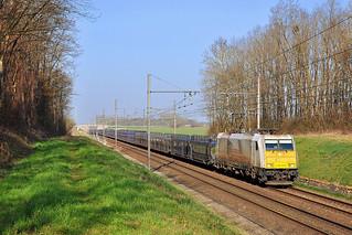 E 186 à Magny-sur-Tille