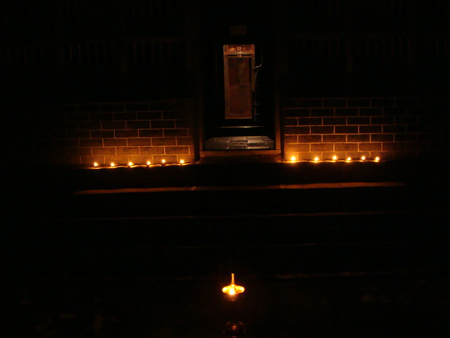 Karthika deepam at my home