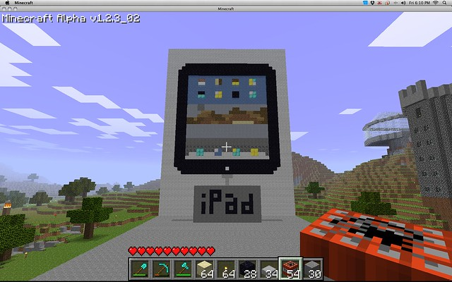 play minecraft on mac and ipad