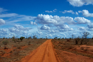 Red roads of Tsavo East #2