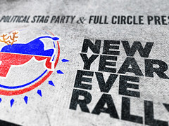 Political Stag Party/Michiana Comedy New year's eve rally